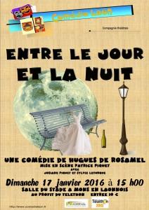 ENTRE LE JOUR ET LA NUIT de Hugues DE ROSAMEL